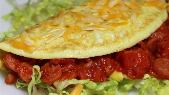 Photo of Pepperoni Pizza Omelet by SLPSHARON