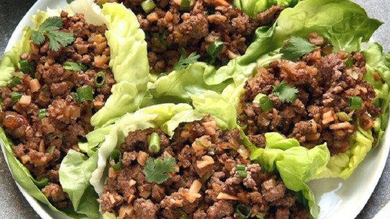 Photo of Asian Lettuce Wraps by Rachel Castro
