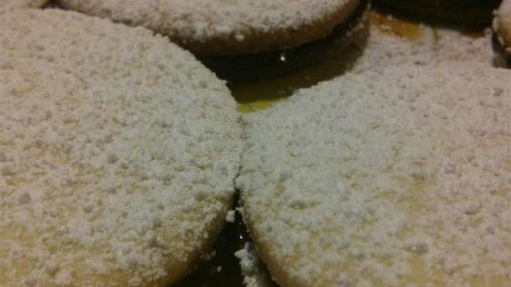 Photo of Fruit Preserve Sandwich Cookies by Cassie