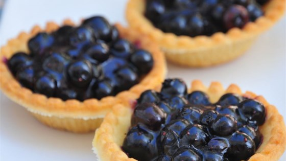 Photo of Topless Blueberry Pie by Elaine