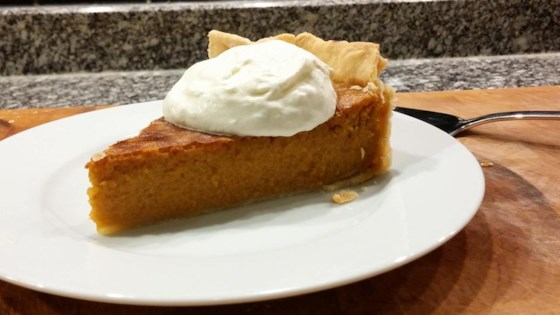 Mrs. Sigg's Fresh Pumpkin Pie