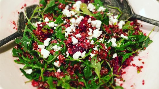 Photo of Quinoa, Beet, and Arugula Salad by slmcm