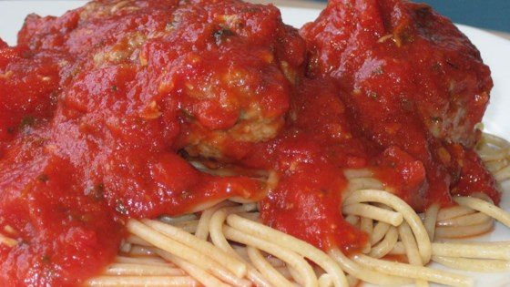 Photo of Meatball Spaghetti Sauce by CRYSTELLE