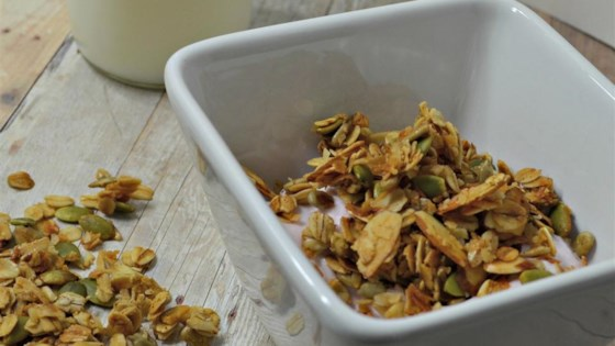 Photo of Honey-Almond Seeded Granola by ccb1122