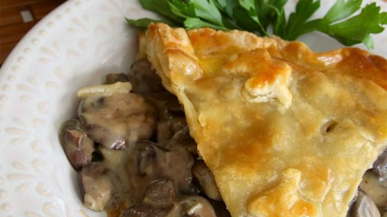 Photo of Elegant Mushroom Pie Recipe by lutzflcat