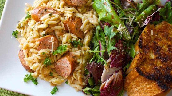 Photo of Everyday Orzo with Sausage and Fresh Herbs by Becky