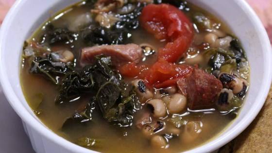 Photo of SoCal Greens and Black Eyed Pea Soup by Cathy Myers