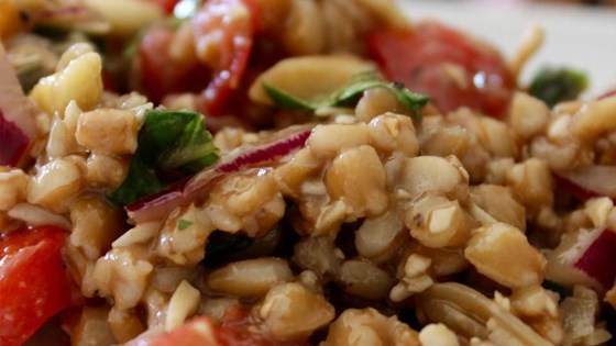 Photo of Caprese Farro Salad by SunnyDaysNora