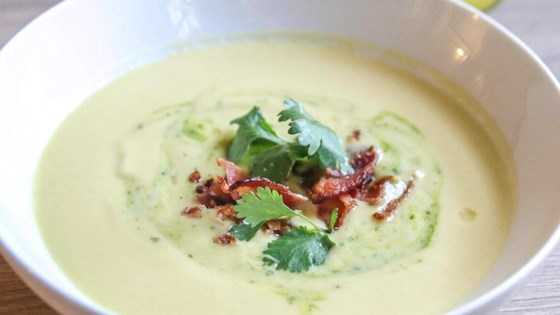 Photo of Chilled Corn Cauliflower Soup by Carol Castellucci Miller