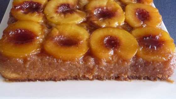 Photo of Peach Upside Down Cake I by Judy Wilson
