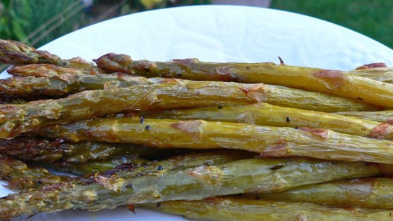 Photo of Roasted Asparagus with Shallots by Sarah Stephan