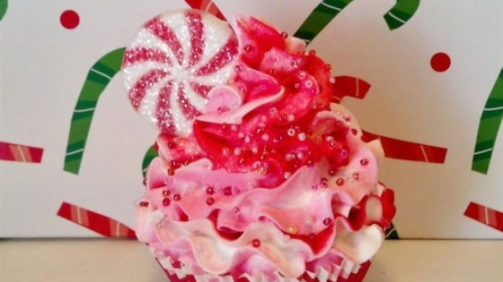 Photo of Pink Peppermint Cupcake by mdeblaz