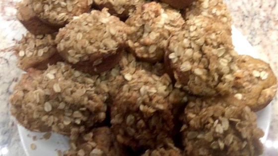 Photo of Pumpkin Streusel Muffins by Kat Cables Table