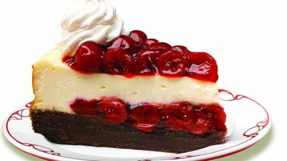 Photo of Cherry Chocolate Brownie Cheesecake by Lucky Leaf Fruit Filling