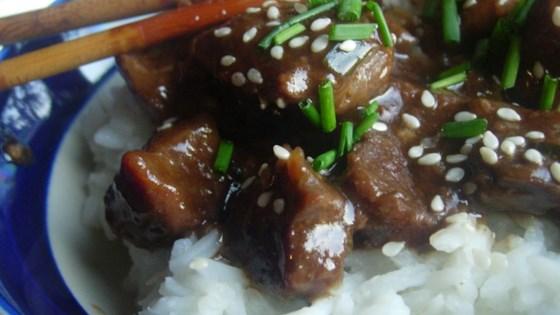 Photo of Sesame Beef Bites by KerriJ