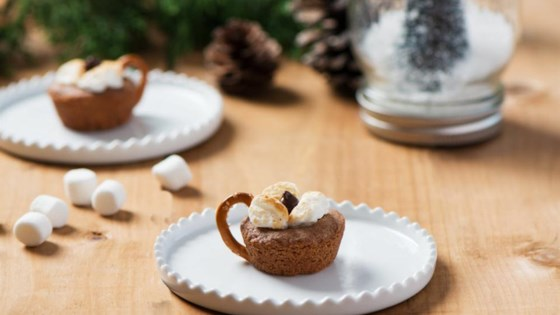 Photo of Becel Anything Goes Cookie Dough Hot Chocolate Cookie Cups by Becel®