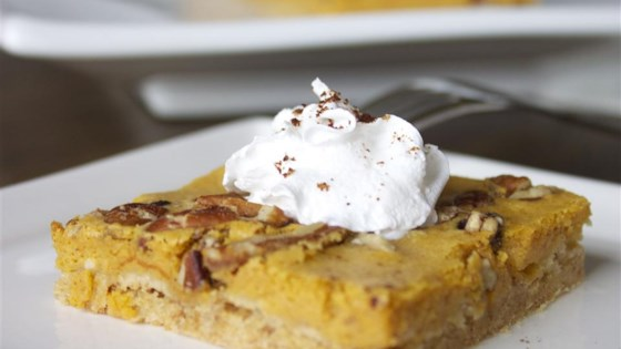 Photo of Pumpkin Cheesecake Bars by AngieHenegar