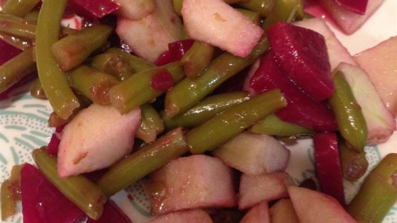 Photo of Beet, Bean and Apple Salad by Jodi Barney Larsen