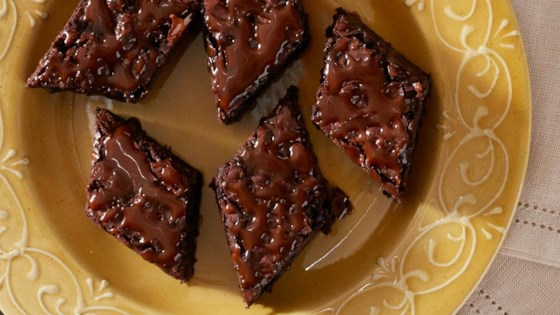 Photo of Double Chocolate Caramel Brownies by Reynolds Kitchens®