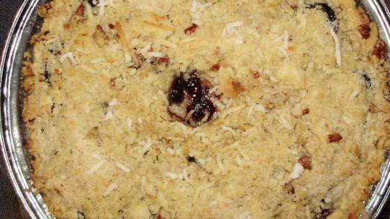 Photo of Coconut Streusel Cherry Pie by YLETHA