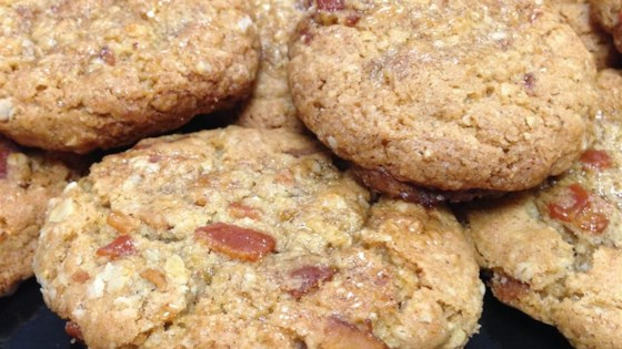 Photo of Bacon Oatmeal Breakfast Cookies With Maple Glaze by Moonsinger38