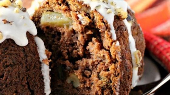 Photo of Applesauce Rum-Raisin Cake by Carol
