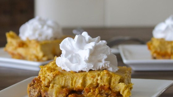 Photo of Pumpkin Cheesecake Squares by TOMGIRL