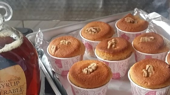 Photo of Maple Walnut Muffins by Marge
