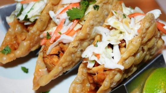 Photo of Chicken Wonton Tacos by OdaMae