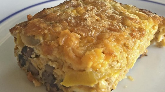 Photo of Cheesy Vegetarian Egg Bake by LucyFitz46