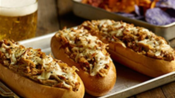 photo of pulled pork pub subs by smithfield