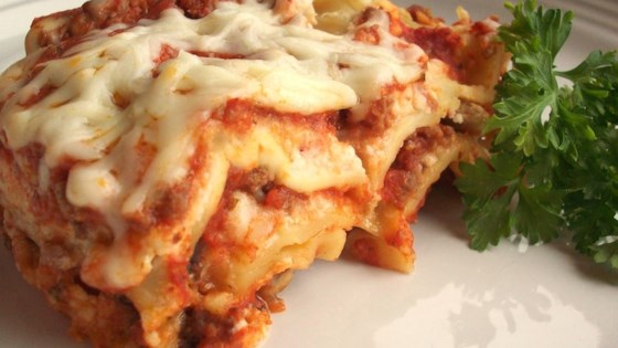 Photo of Simply Traditional Lasagna by Kris Swiggum