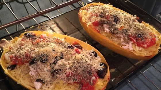 Photo of Baked Spaghetti Squash Lasagna Style by Brisak