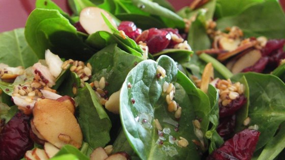 Photo of Jamie's Cranberry Spinach Salad by Jamie Hensley