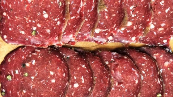Photo of Venison Salami by Amy Miller