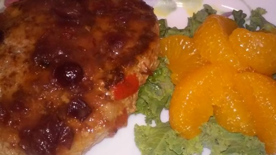 Photo of Turkey Salisbury Steak with Cranberry-Orange Gravy by Tasha Shuten