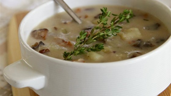 Photo of Skinny Cream of Mushroom Soup by yajuwen