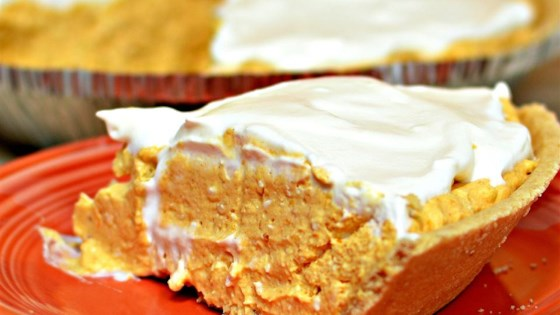 Photo of No-Bake Pumpkin Cheesecake Pie by Ken Leo Heintzman