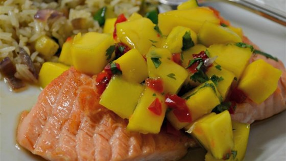 Photo of Chef John's Salmon Mango Bango by Chef John