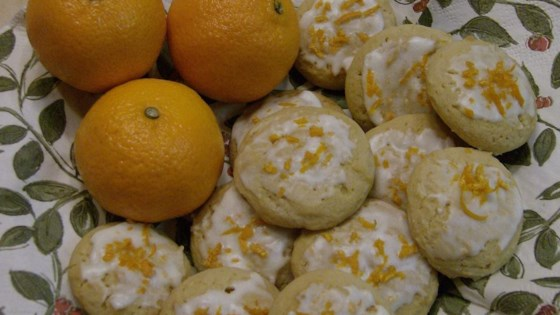 Orange Drop Cookies I