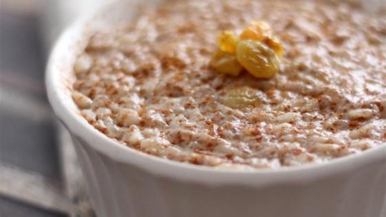 Tapioca Rice Pudding