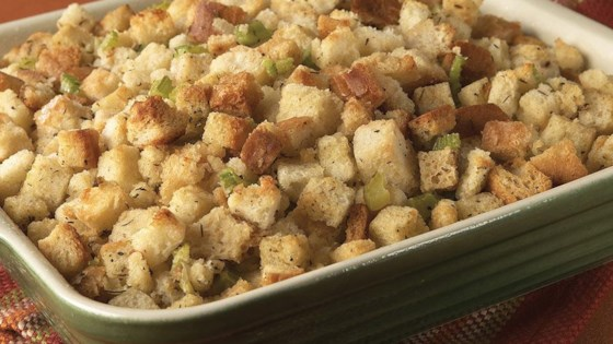 Classic Herb Stuffing Recipe Allrecipes Com