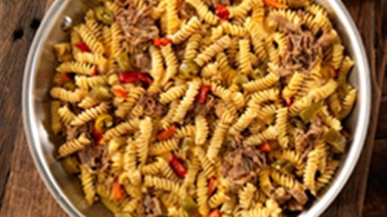Photo of Easiest Rotini with Cheesy Italian Beef by Barilla