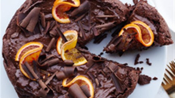 Photo of Ghirardelli® Chocolate and Orange Mousse Cake by Ghirardelli