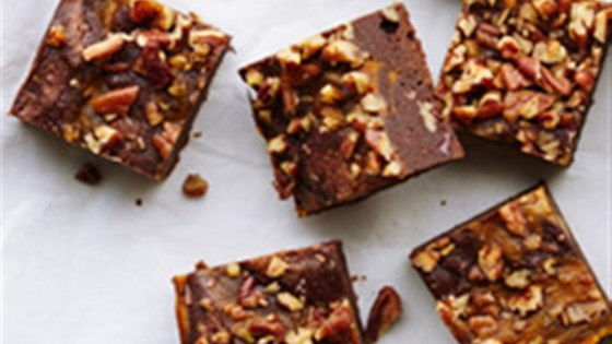 Photo of Chocolate, Pumpkin and Pecan Brownies by Ghirardelli