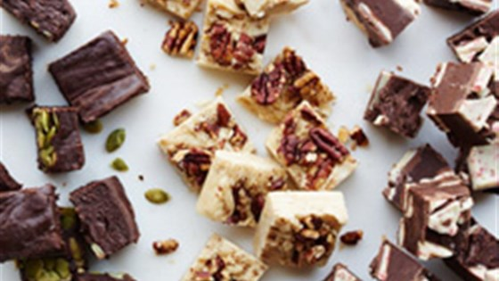 Photo of Ghirardelli® Peppermint Bark Holiday Fudge by Ghirardelli