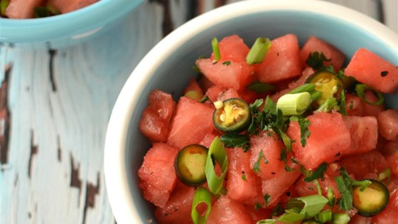 Photo of Warm Watermelon Salad by DomesticDiva