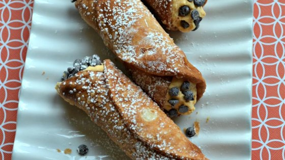 Photo of Pumpkin Cannoli by chefchristabug