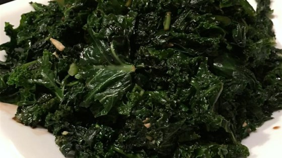 Photo of Kathy's Sauteed Kale by Kathy Young