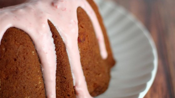 Maraschino Cherry Pound Cake